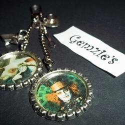 Johnny Depp Alice In Wonderland Bag Charm