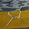 Butterfly Shawl Pin, Sterling Silver Butterfly and Pin, Scarf or Cardigan Clasp