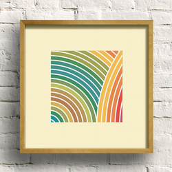 Zen Earth Square Giclee Print