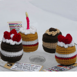 Crocheted Cake