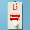 London Bus, Personalised Peg