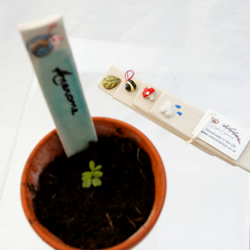 Ceramic Plant Markers - Mixed Set