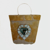 Mosaic Slate Heart Shabby Chic Garden Hanging Decoration