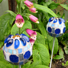 20% OFF Pair of Mosaic Garden Plant Support Stakes