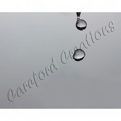 "Water Droplets Set of three 7"" x 5"" Fine Art Prints - free shipping"