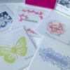 Special Offer! Pk of Ten Mini Cards, Mixed Greeting and Designs,Handmade