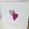 Valentines Day Card,Handmade,Personalised,Engagement,Wedding,Anniversary