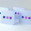 Set of Four Notecards,'Knitters Notes',Blank Notecards with Envelopes