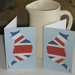 GREETINGS CARDS – TWO BEST OF BRITISH CATS