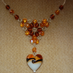 *Web of Love* Necklace
