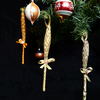 Eco-friendly organic Christmas tree decorations