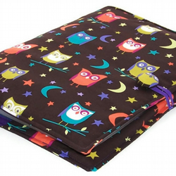 A4 Ring Binder File Cover Night Owls