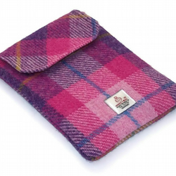 Kindle Paperwhite Case Harris Tweed Pink Sunset