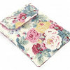 Ipad Mini Cover, Blackberry Playbook Sleeve, Shabby Chic Roses