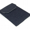 Kindle Cover, Nook Simple Touch, NAVY BLUE DENIM
