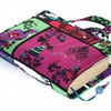 Fabric Book Bag Fairy Tale Pink Christmas Present