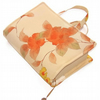 Handmade Book Cover Bag Apricot Blush