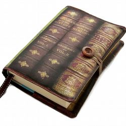 Handmade Bible Cover Victorian Books Design F2