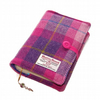 Diary Cover Harris Tweed SUNSET PINK