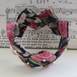 Pretty Floral Fabric Origami Bracelet