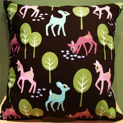SALE!! Cushion - 'Oh Deer'