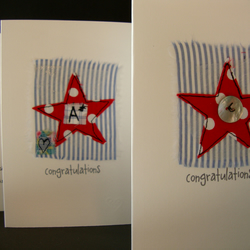 star congratulations card
