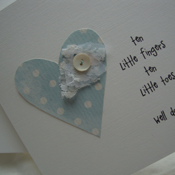 new baby boy or  girl card