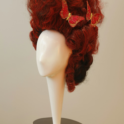 Rococo Loco Wig in Ruby Red