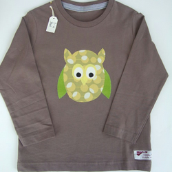 Childrens 'Wise Old Owl' Long Sleeve T Shirt