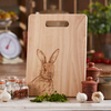 Rabbit Design - Wooden Chopping Serving Display Board