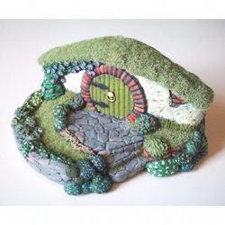 Hobbit Hole Fairy Door