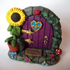 SALE! Fairy Door (purple)