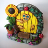 SALE! Fairy Door (yellow)