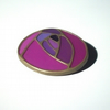 Purple Art Nouveau Brooch
