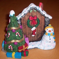 Christmas Fairy Door SALE - £5 (was £18)