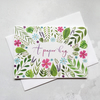 A Paper Hug A6 Card - Originally Hand Painted Floral Watercolour Card