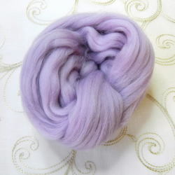 Merino Wool for Wet Felting Needle Felting Pastel Yellow White Pink Beige Lilac