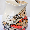 1 litre hare on a motor bike jug.  Hare on down the highway!