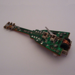 Electric Guitar Circuit Board Sculpture