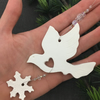 Porcelain Dove Decoration