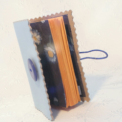 Little Blue Leather Notebook