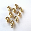 9 x Gold Plated Lobster Clasps