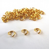 60 x Gold Plated Jump Rings 4mm (open)