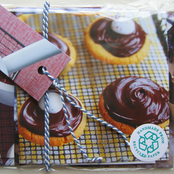 cakes & baking - eco card 4 pack
