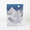 Happy Mountain Greeting Card
