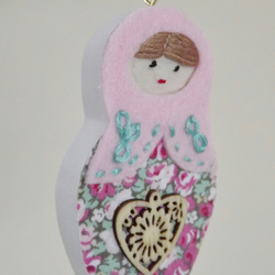 Wooden Russian Doll Small