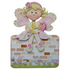 Personalised Girl's Fairy 3D Decoupage Birthday Card Daughter Grand Daughter etc