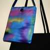 'Sunset' Hand-Painted Silk Bag