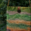 'Hedgerow' Hand-Painted Silk Bag