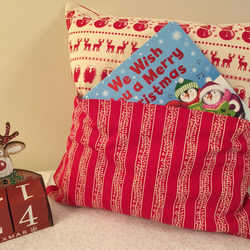 Christmas Reading Pillow